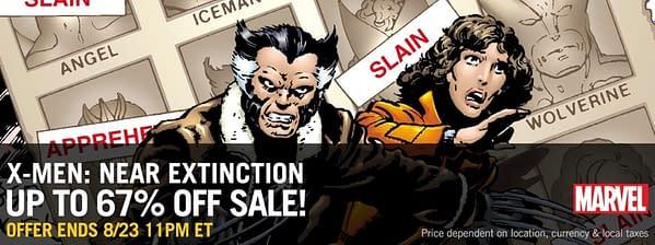 ComiXology is Holding an X-Men: Near Extinction Sale
