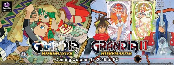 """""""Grandia HD Remaster"""" Gets An October Release Date"""