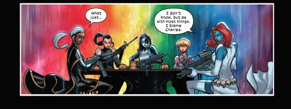 Today's X-Factor #3 From Marvel Comics Has A Fortnite Crossover Too