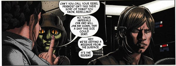 Is That the Tinest Reference to Solo in Today's Star Wars #49 From Marvel Comics? (Spoilers)