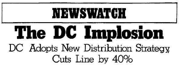 Jim Lee, Bob Harras, Marie Javins In New DC Implosion Rumors.
