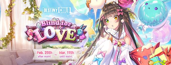 Now you can play Blind For Love in Destiny Child from now until March 11th. Courtesy of SHIFT UP.