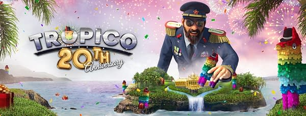 I mean, what's the point of being a dictator over an island country if you can't throw a party for yourself? Courtesy of Kalypso Media.