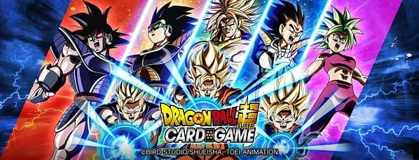 Dragon Ball Super Card Game Saiyan Showdown promo image. Credit: Bandai