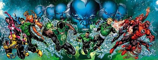 The Fall Of Guy Gardner In The Third Army