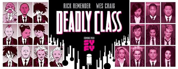 It's 'Deadly Class' Picture Day for Syfy's Rick Remender/Wes Craig Comic Book Series Adaptation