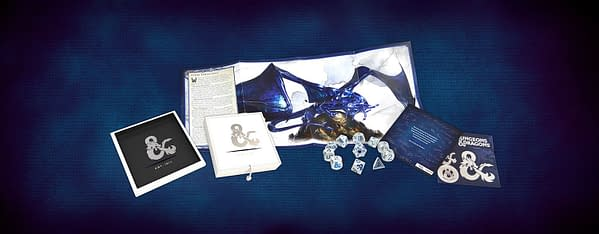 """D&D"" Sapphire Anniversary Dice Kit Goes On Sale Today"
