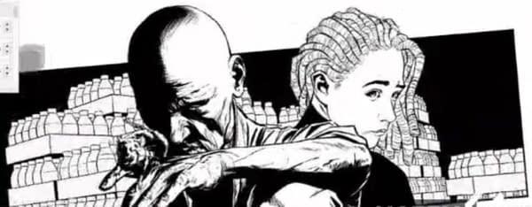 Joe Quesada artwork for a new Marvel Comics project.