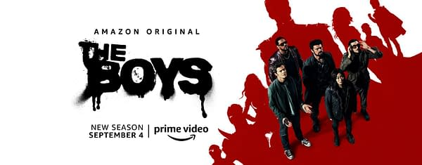 The Boys returns on September 4 (Image: Amazon Prime)