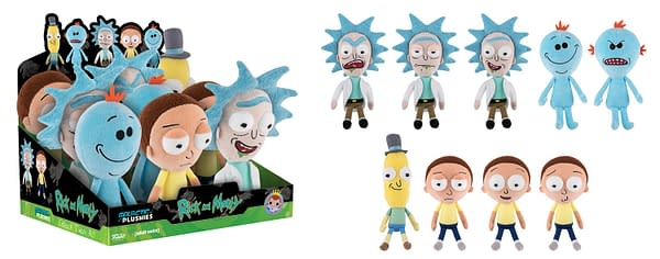Rick and Morty Galactic Plushies