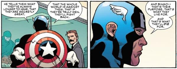 Jordan Peterson's Red Skull Vs Captain America and Agatha Harkness