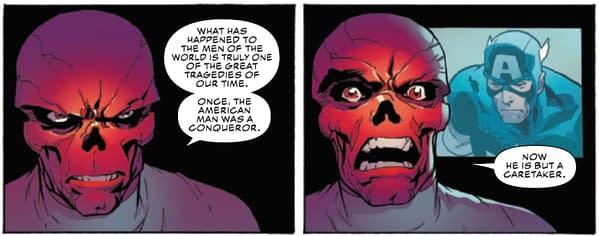 Red Skull Vs Captain America
