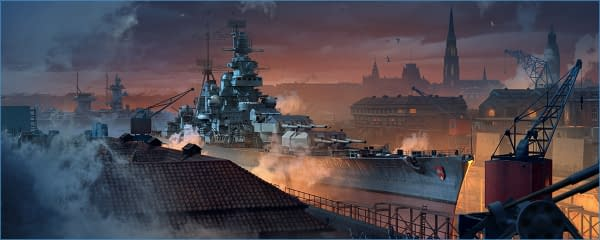 The dockyard in World of Warships has gotten a slight rework, courtesy of Wargaming.