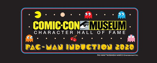 Pac-Man is going into the Hall Of Fame, courtesy of Bandai Namco.