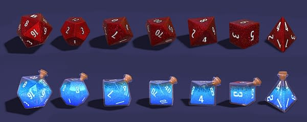 D&D Beyond Celebrates Fourth Anniversary With New Dice