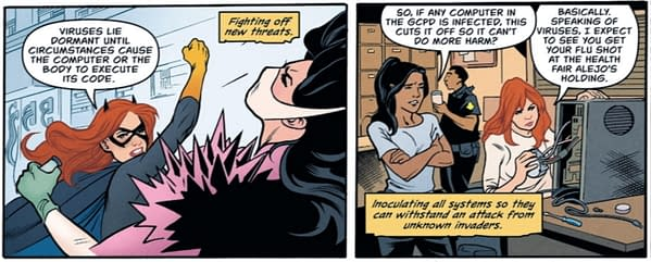 """""""Be A Hero - Wear A Mask"""" In DC Comics This Week"""