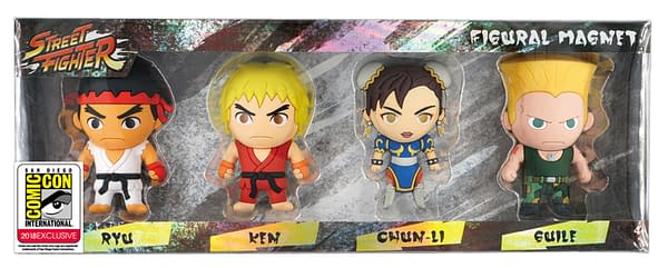 Monogram SDCC Exclusive Street Fighter Keyring Set