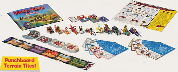 Check out this STUNNING Wacky Races Board Game from CMON