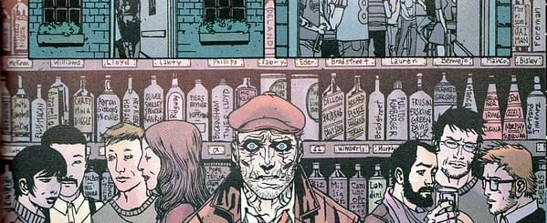 If You Wrote Or Drew John Constantine, You May Be A Drink In Hellblazer #300