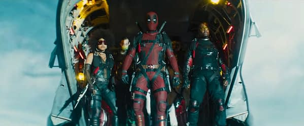 Who are the Members of Deadpool's New (X-Force?) Team in the Deadpool 2 Trailer?