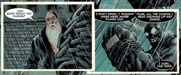"Donny Cates & Ryan Stegman Tie ""Kids Love Chains"" Into New Venom"