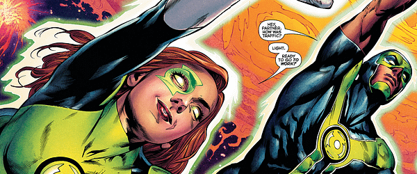 Green Lanterns #33 art by Eduardo Pansica, Julio Ferreira, and Alex Sollazzo