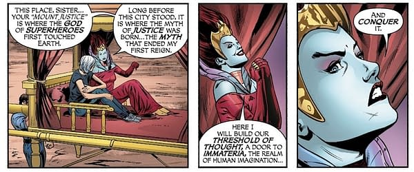 Promethea Joins the Justice League of America