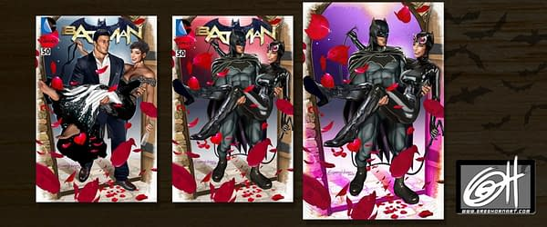 More Batman #50 Covers by Joseph Michael Linsner, Greg Horn, Natali Sanders, and More