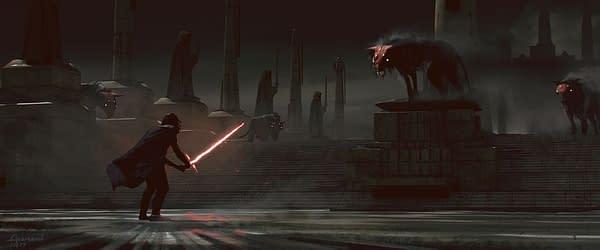 Star Wars Yahoo Debuts New Rise Of Skywalker Concept Art