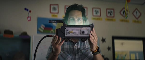 Paul Rudd in Ghostbusters: Afterlife. Image courtesy of Sony Pictures