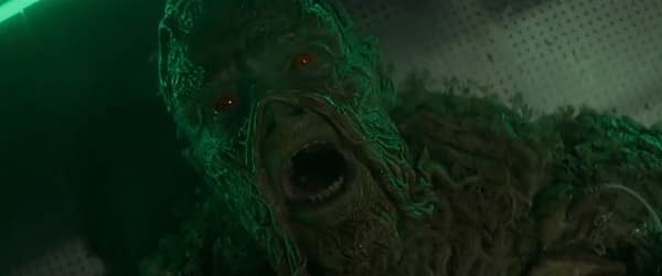 "Swamp Thing released a preview for ""The Anatomy Lesson."" (Image: The CW screencap)"