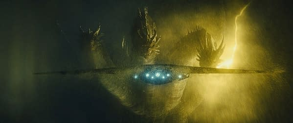 Mike Dougherty Shares New Image of King Ghidorah from 'Godzilla: King of the Monsters'