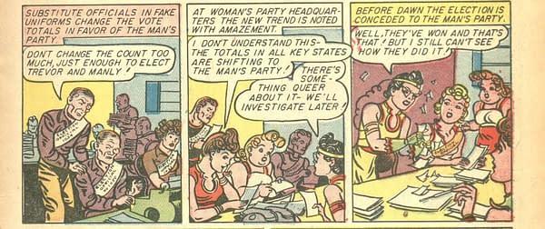 Wonder Woman #7, Winter 1943.