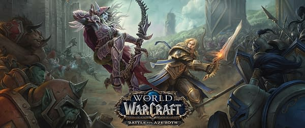 Blizzard Announces A New Expansion For World of Warcraft With 'Battle For Azeroth'