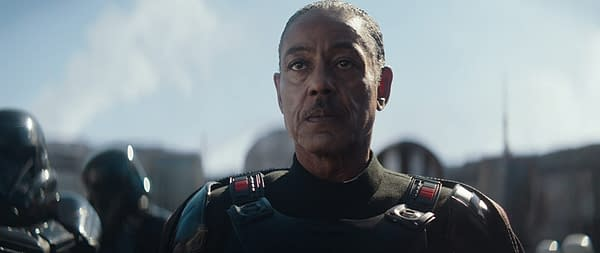 The Mandalorian Actor Giancarlo Esposito Teases More Darksaber