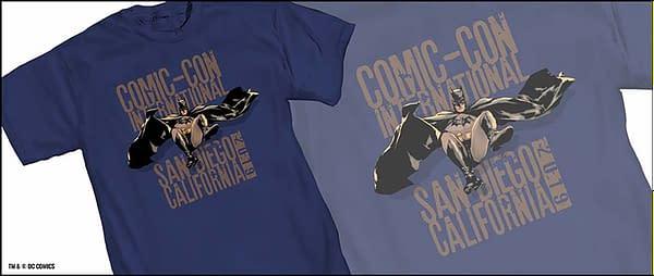 Mitch Gerads Designs SDCC Batman Shirt, One of Many Across the Decades