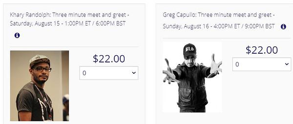 $22 To Speak To Scott Snyder, Tom King, Greg Capullo For 3 Minutes