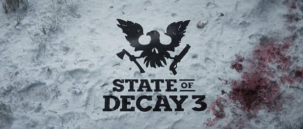 There's blood in the snow everywhere you go in State Of Decay 3, courtesy of Xbox Game Studios.