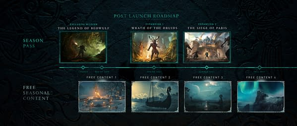A look at the post-launch roadmap for the game, courtesy of Ubisoft.