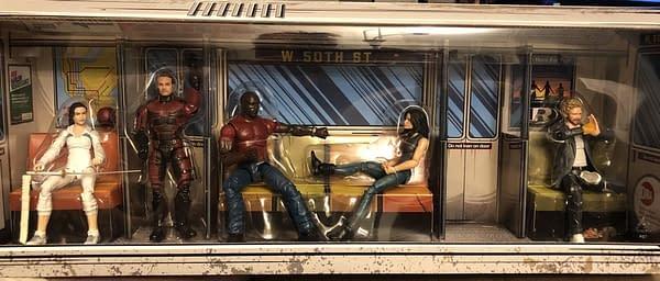 Marvel Legends SDCC Exclusive Defenders Rail Authority Set 1