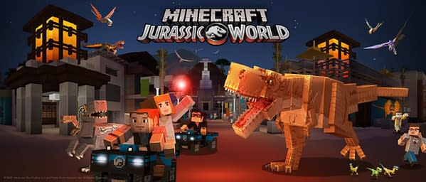 Now you too can build your own dinosaur park only to be chased out of it in Minecraft, courtesy of Mojang.