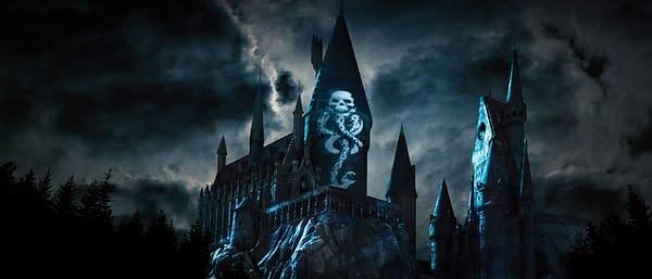 Universal Studios Conjures Dark Arts at Hogwarts Castle
