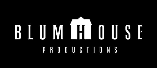 The official logo for Blumhouse Production. Our Lady of Tears