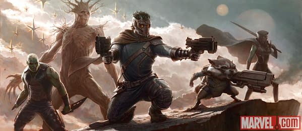 Guardians Of The Galaxy Concept Art Released