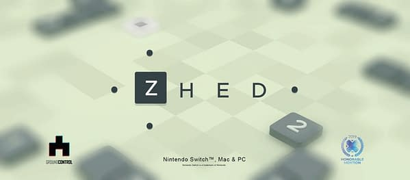 The mobile puzzler ZHED comes to Nintendo Switch this week, courtesy of Ground Control.