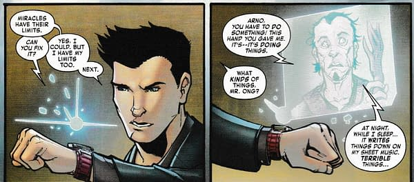 Tony Stark: Iron Man #5 Replaces Scientific Curiosity With Body Horror