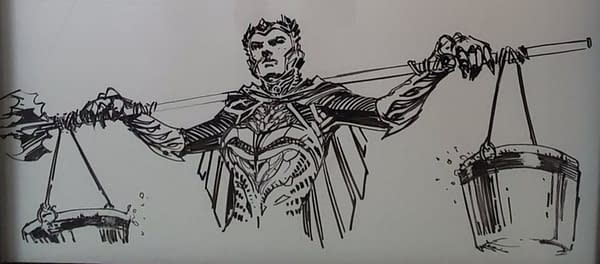Zack Snyder's Plans For A Justice League Sequel, Drawn By Jim Lee