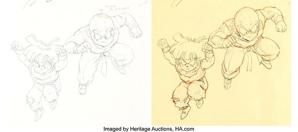 Original Dragon Ball Z Art. Credit: Heritage Auctions