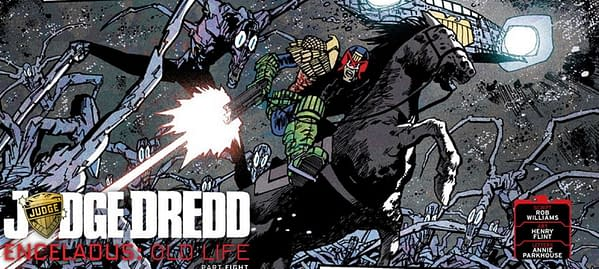 Judge Dredd Publisher Incensed Over Brexit Price of Importing Horses