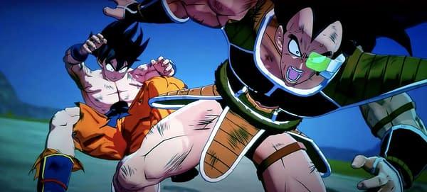Goku & Raditz in Dragon Ball Z: Kakarot. Credit: Bandai NAMCO